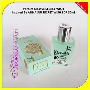 Anna Sui Secret Wish, parfum wanita aroma buah, parfum wanita aroma seksi, parfum wanita aroma fresh