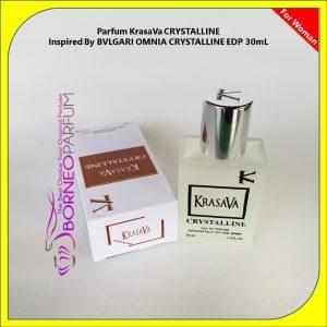 Bvlgari Omnia Crystalline, parfum wanita dibawah 50 ribu, parfum wanita dengan aroma lembut, parfum wanita dewasa