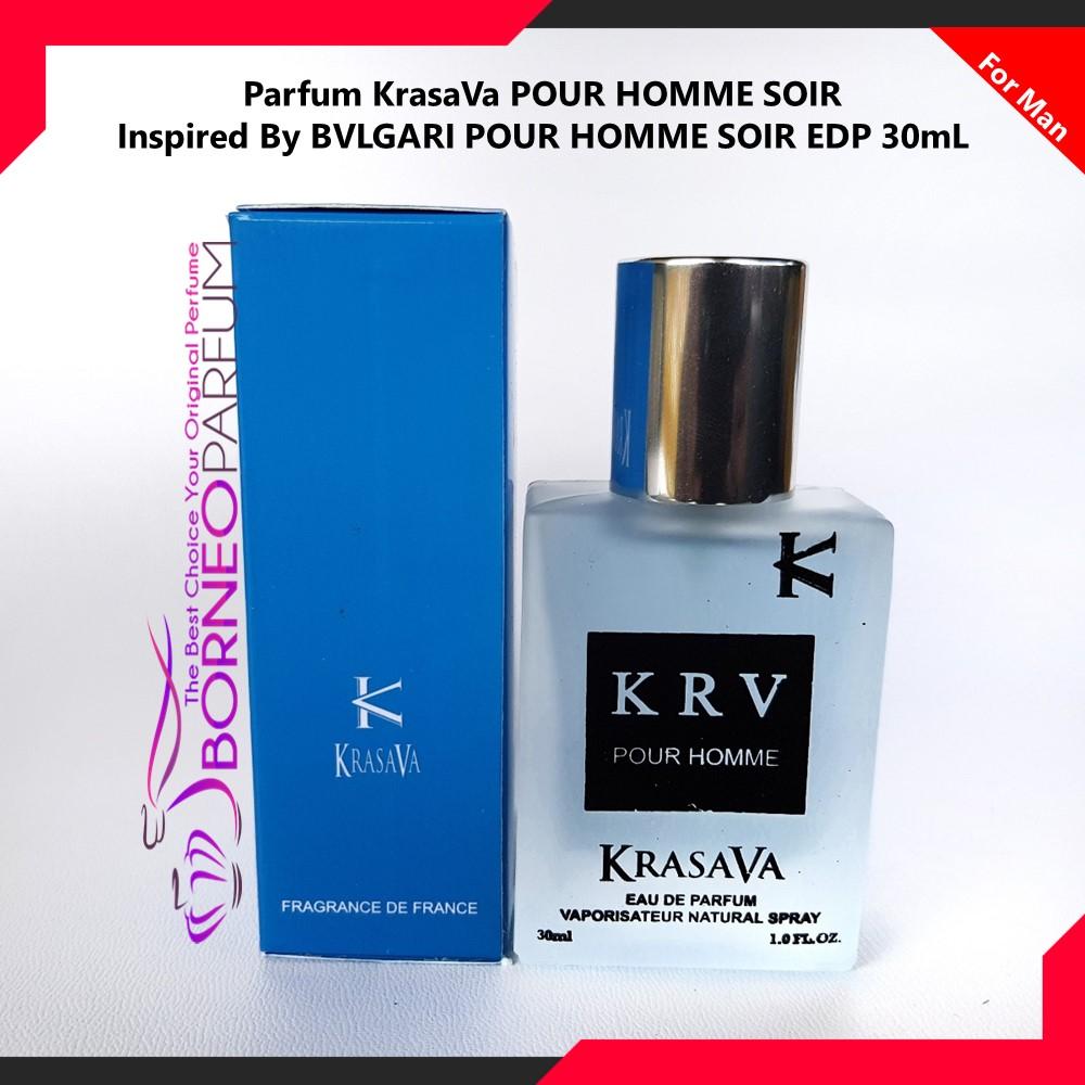 Parfum Pria Bvlgari Pour Homme Soir Krasava Wangi Tahan Lama