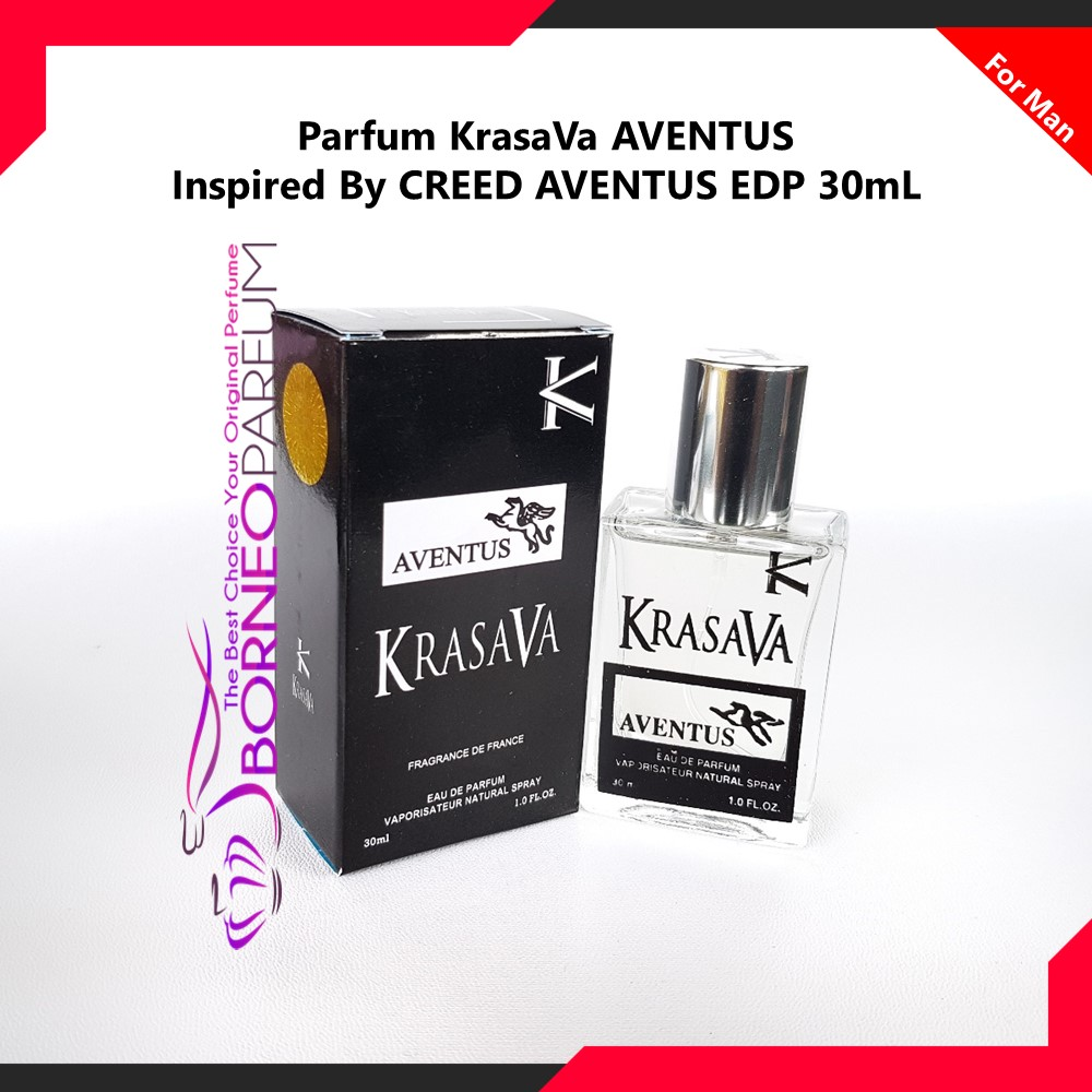 Parfum Pria Creed Aventus Krasava Original Wangi Tahan Lama