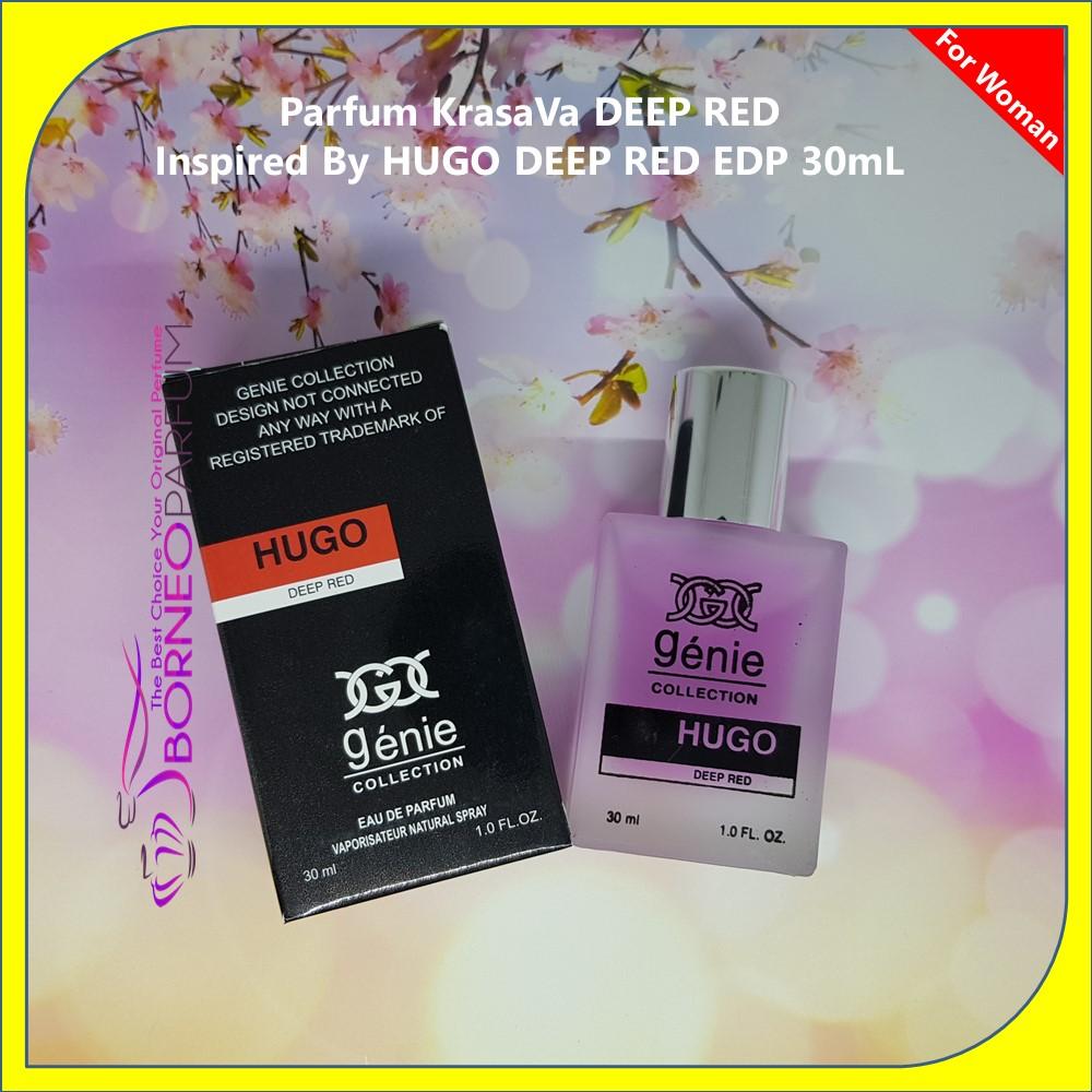 Hugo Deep Red, parfum wanita jepang, parfum wanita jo malone, parfum wanita jafra