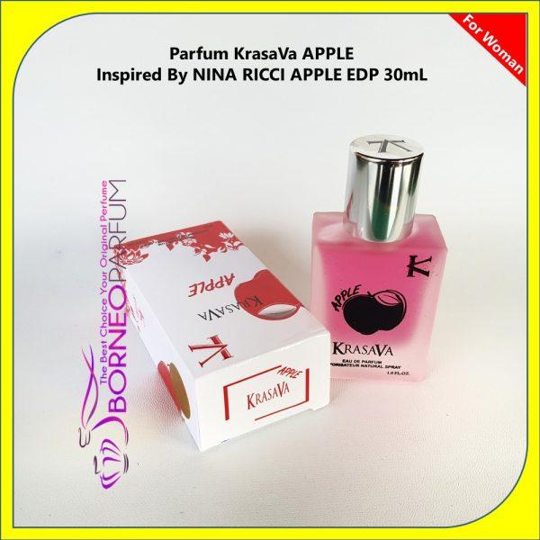 Nina Ricci Apple, parfum wanita rasa buah, parfum wanita remaja, parfum wanita review